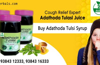 Want To Get A Good Health Experience, Try Adathoda Tulsi Syrup!!...