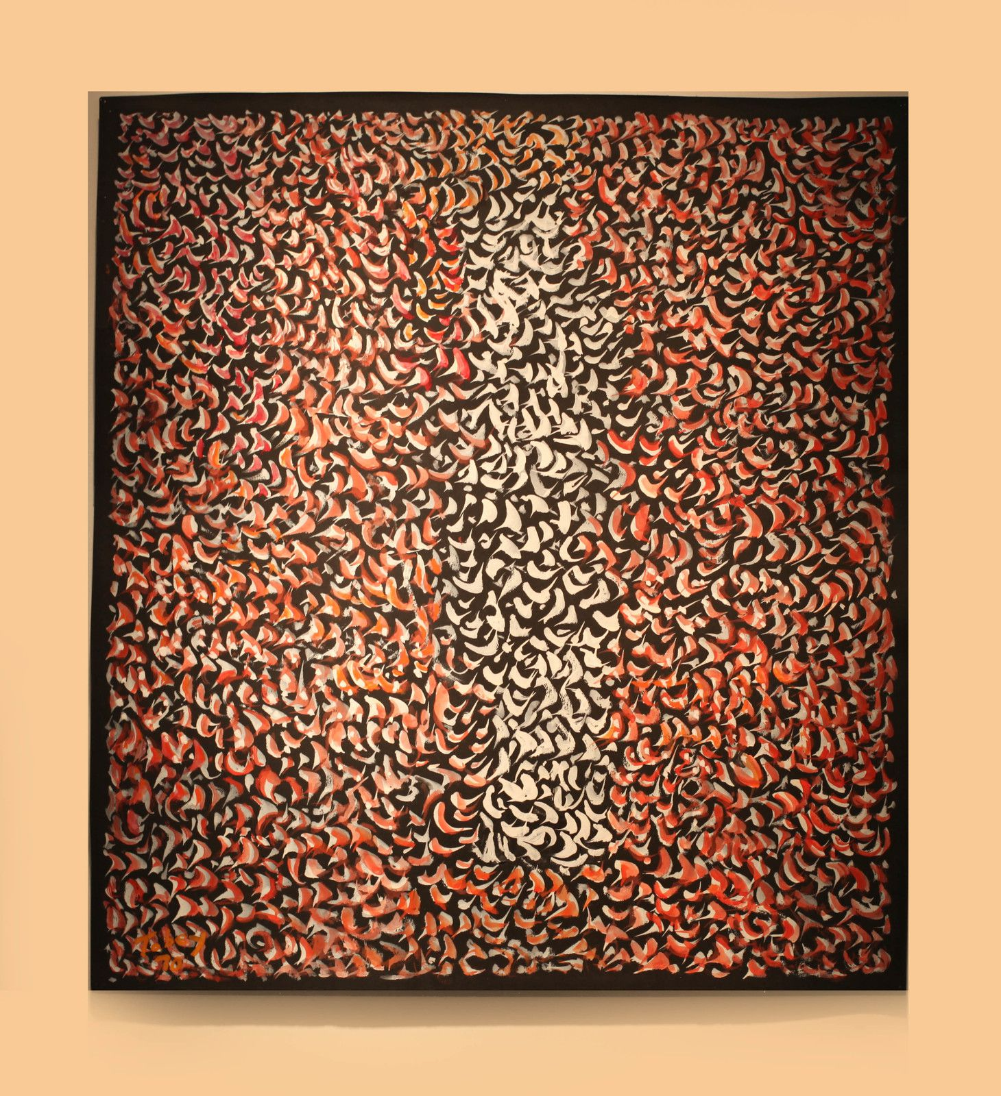 """Image"", 1970  de Mark TOBEY - Courtesy de la Galerie Jeanne Bucher Jaeger © Photo Éric Simon"