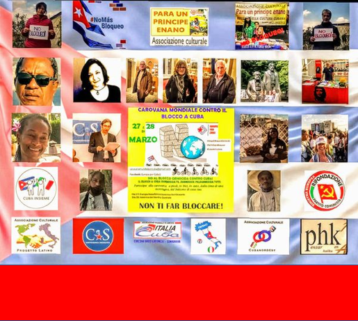 27 MARZO: CAROVANA VIRTUALE di solidarietà per Cuba e contro il BLOQUEO