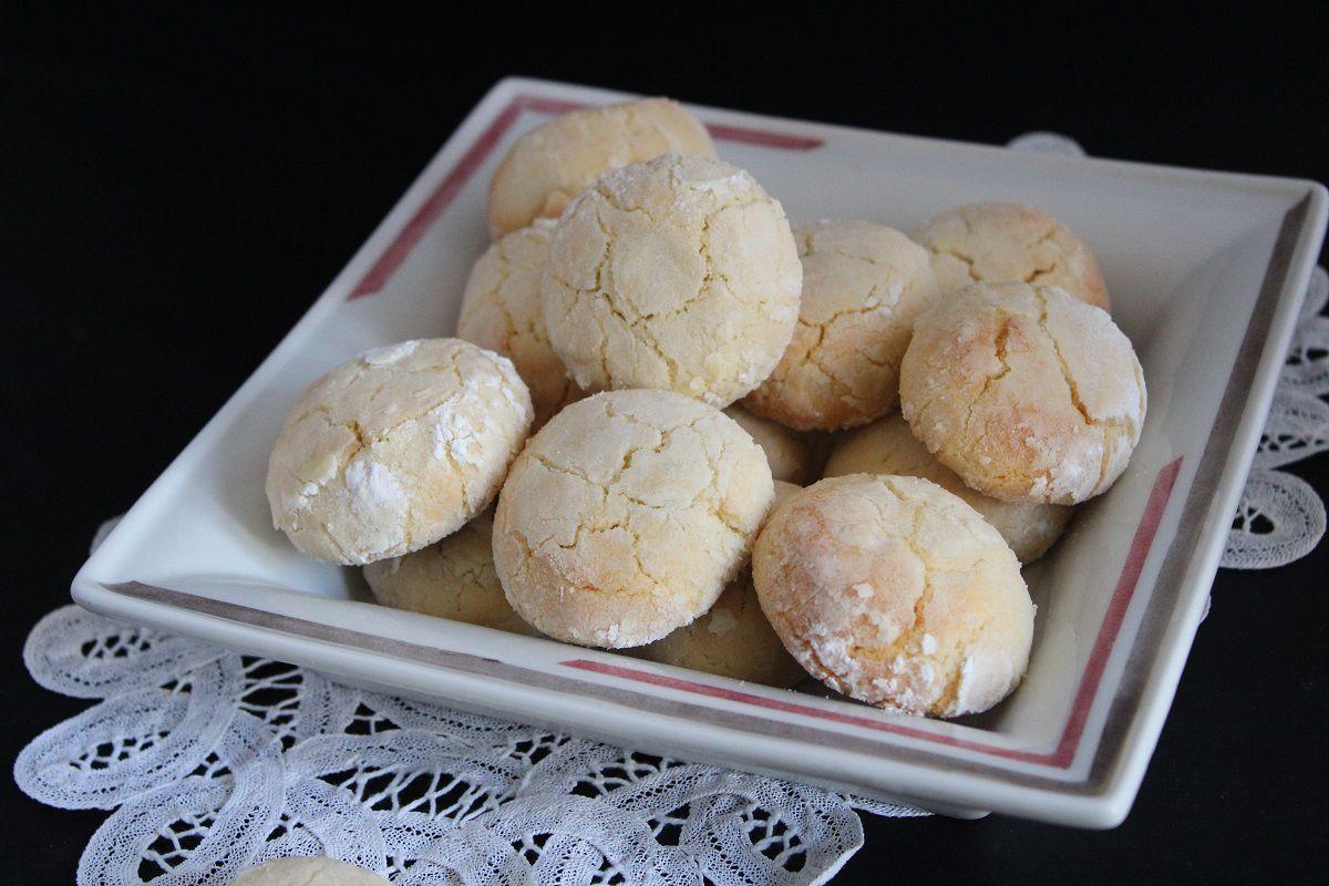 Biscuits craquelés au citron (lemon crinkle)