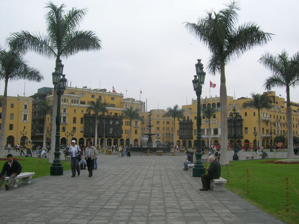 Album - Perou-Lima, Paracas et Huacachina