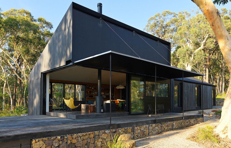 Une maison au cœur de la forêt australienne