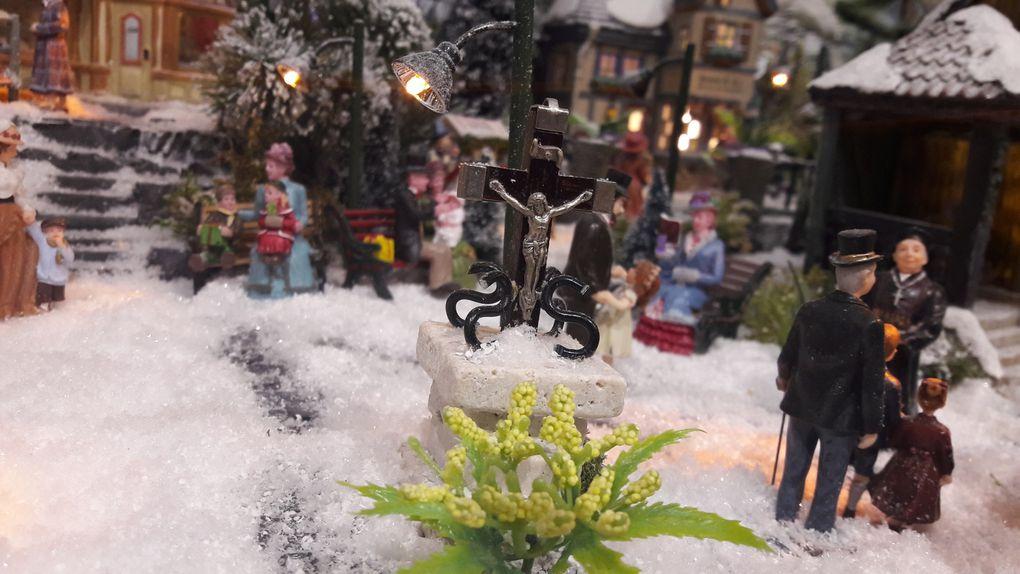 Un Noël dans un petit village niché en pleine nature - village 2020