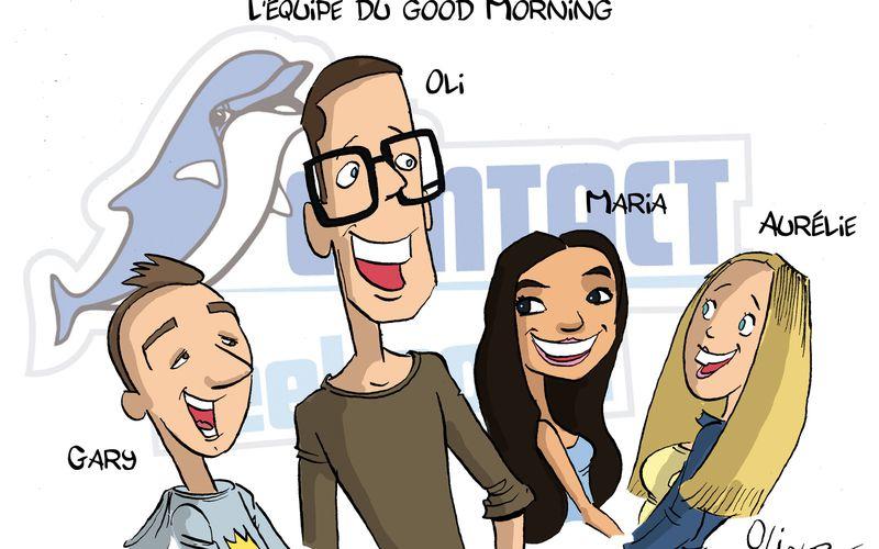 Oli et Pat-Le Good Morning en bulles... Radio Contact
