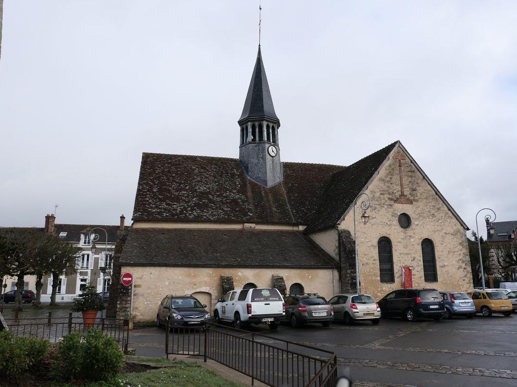 Randonnée de Thomery à Moret-Veneux-Les-Sablons - 17,5 km.