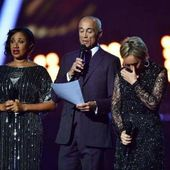 BRITS AWARDS 2017 * DISCOURS HOMMAGE DE PEPSI SHIRLIE & ANDREW * - GEORGE MICHAEL NEWS