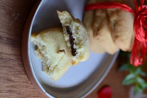 Biscuits fourrés au chocolat #by Eglantine