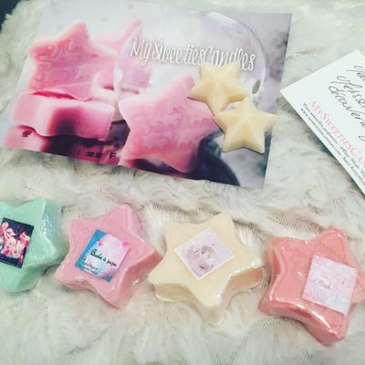 Ma 1 ere commande My sweeties Candle
