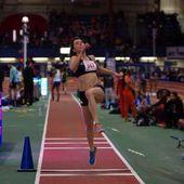 Athlétisme : la Rochelaise Mathilde Lagarde, vice championne de France à la longueur