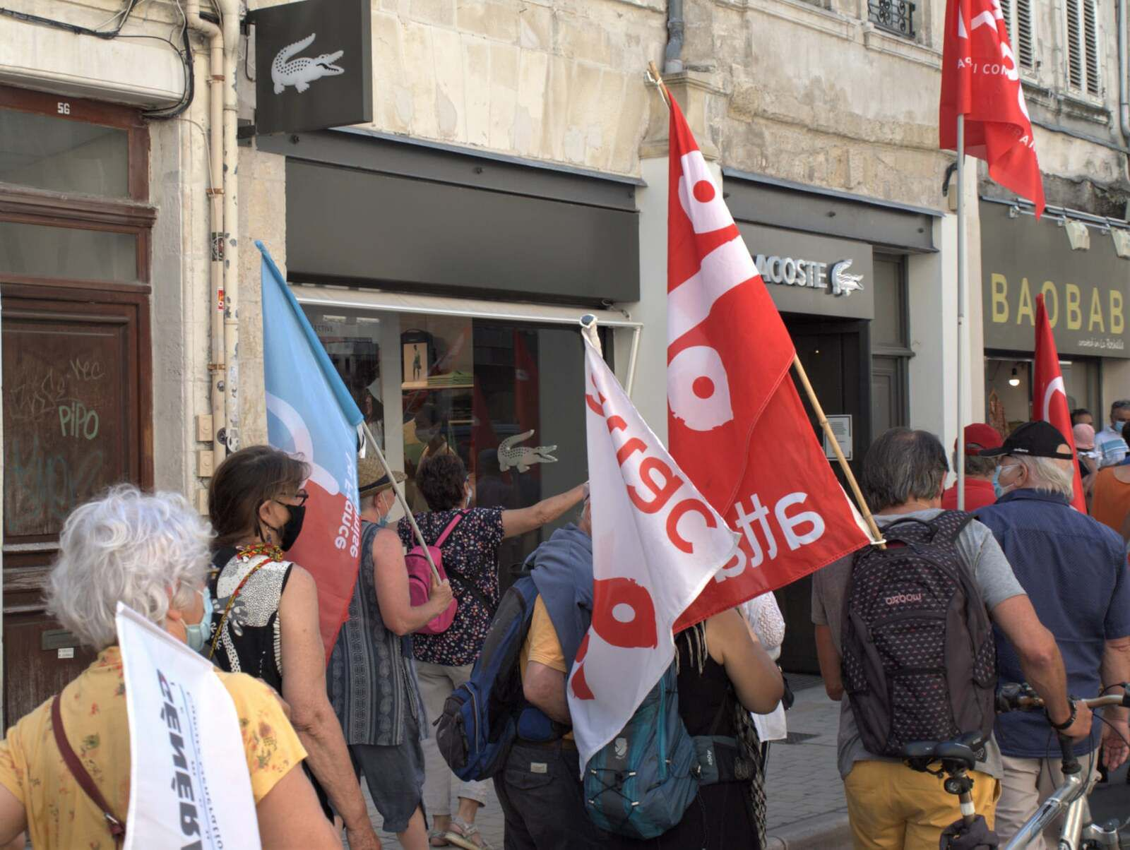 Marche pour les libertés - 12 juin 2021 - à La Rochelle
