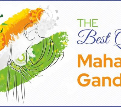 What are some of the best quotes from Mahatma Gandhi?