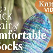 Knit a Quick Pair of Comfortable Socks with Jen Lucas