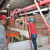 Les apprentis du bâtiment sensibilisés aux risques professionnels
