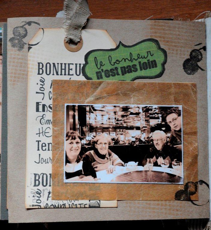Album fait en cours avec Valérie Portais. Offert pour les 70 ans de ma maman...