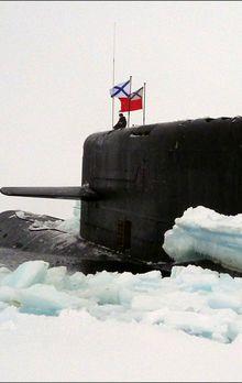 Le BS-136 Orenbourg au pôle Nord