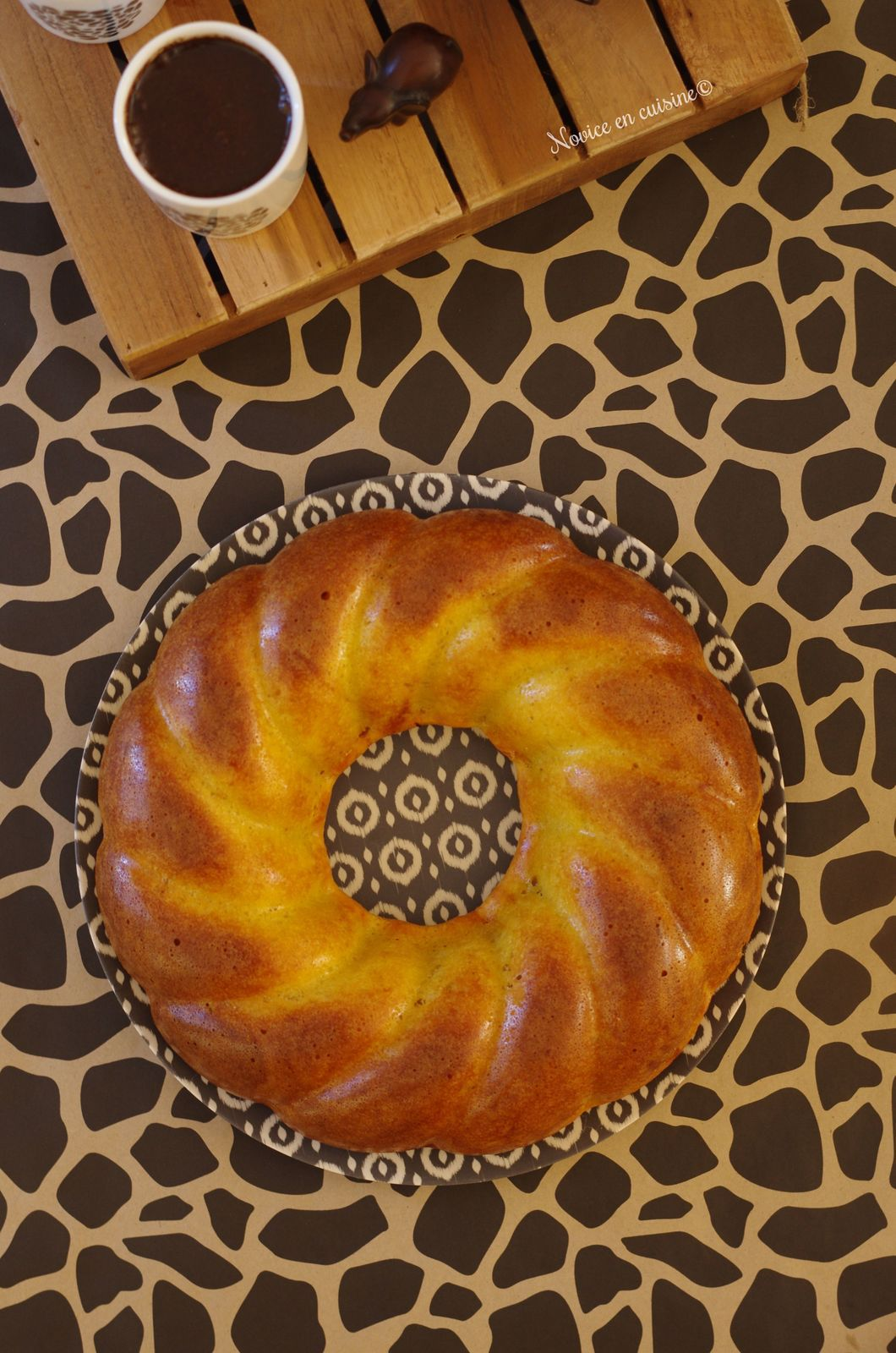 Couronne pommes/vanille