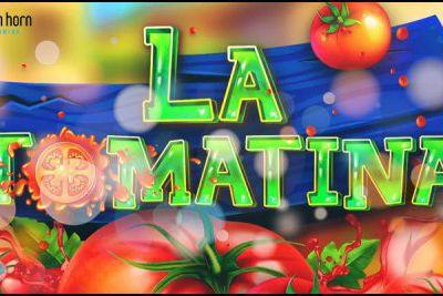 Saveurs de l'été avec la nouvelle machine à sous mobile La Tomatina de Tom Horn Gaming