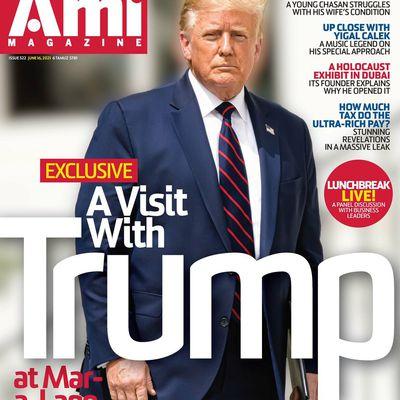 Donald Trump déçu des Juifs américains