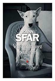 """""""Vous connaissez peut-être"""", Joann Sfar"""