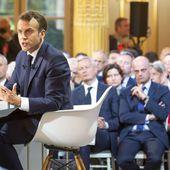 """Après les """" CP à 12 """", Emmanuel Macron souhaite des """" classes à 24 """" en CE1"""
