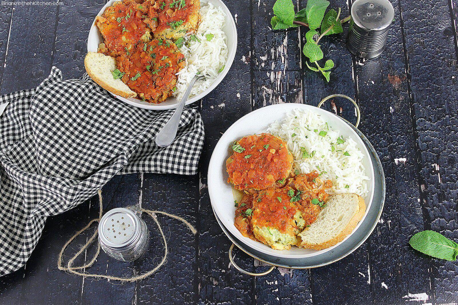 Croquettes de Cabillaud à la Sauce Tomate de Yotam Ottolenghi
