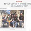 BOURGES : On se syndique à la CGT dans le monde de la culture
