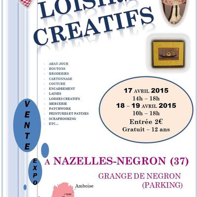 salon nazelles negron 17-18-19 avril 2015