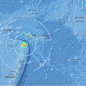Séisme de magnitude 6.8 aux Samoa,aucune alerte tsunami n'a été lancée 4/11/2107