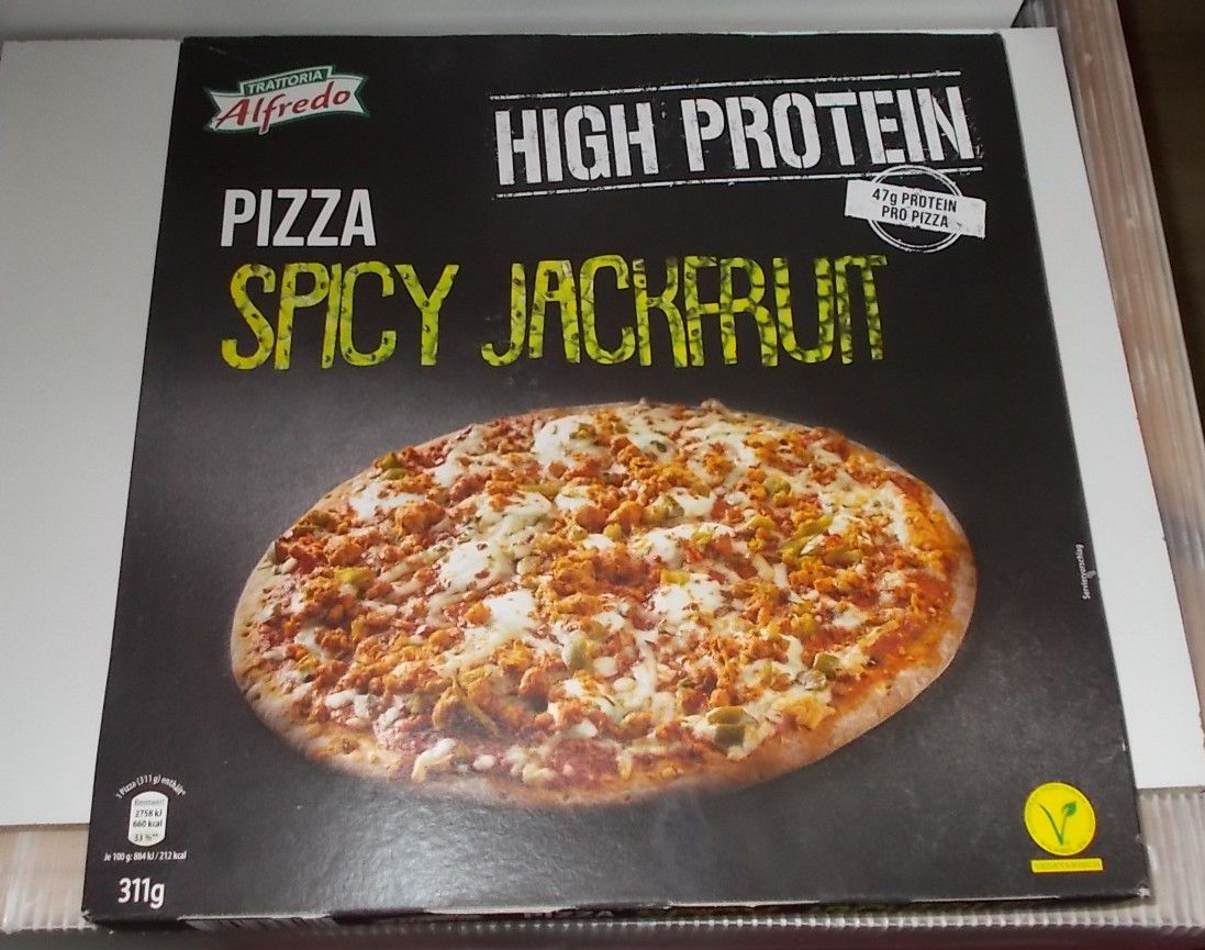 [Lidl] Trattoria Alfredo Pizza Spicy Jackfruit High Protein