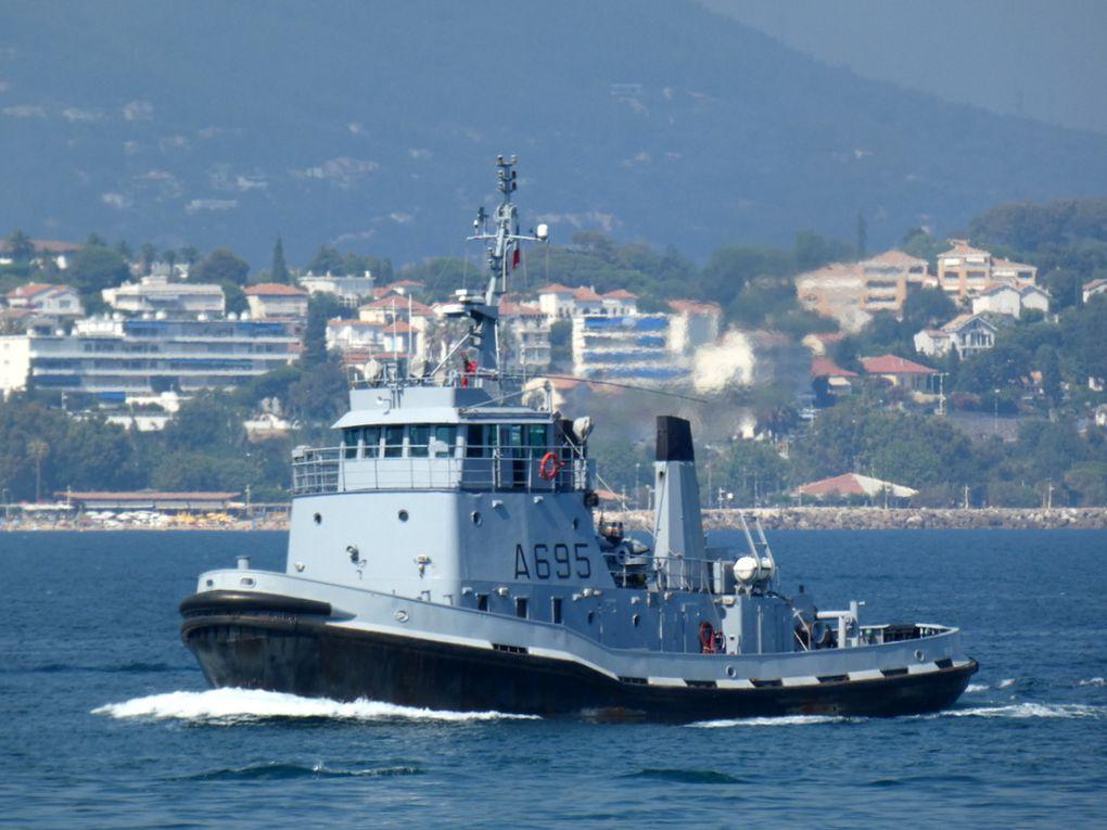 BELIER  A695 en rade des Vignettes à Toulon