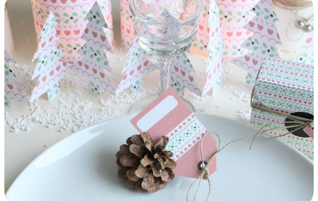 Table de Noël express