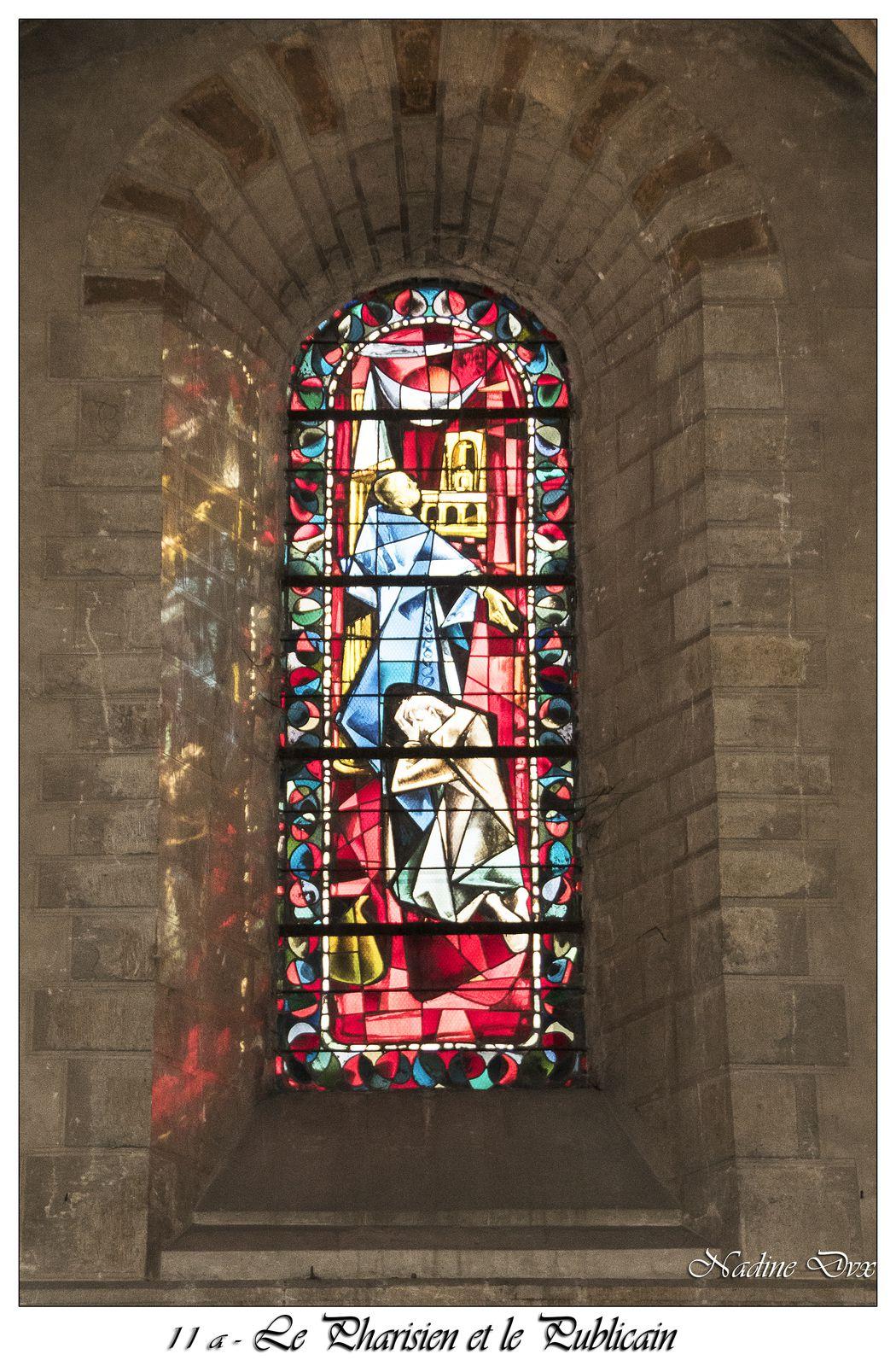 Vitraux - Eglise Notre-Dame-du-Pré - Le Mans