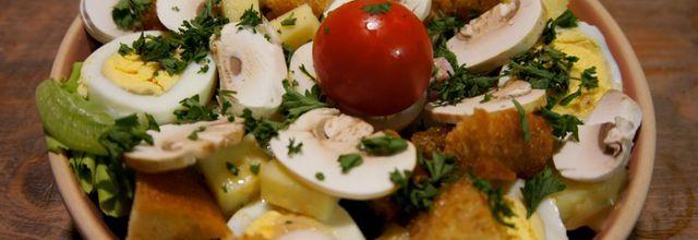 Salade parisienne comme au restaurant