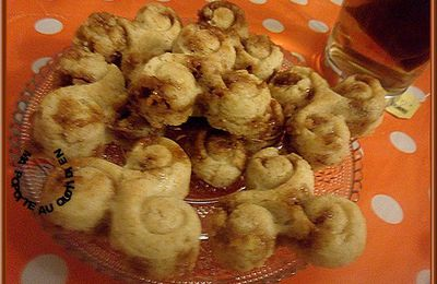 Cookies en tréfles au caramel au beurre salé