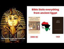 Bible stole everything from Kemet