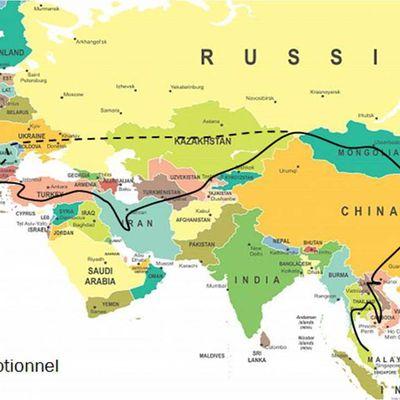 L'ITINERAIRE : pays par pays