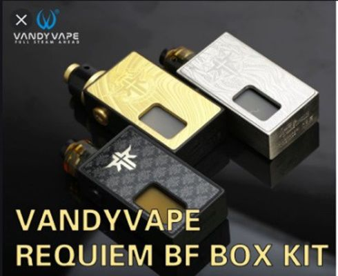 Vape batch - Box Requiem BF de chez Vandy Vape