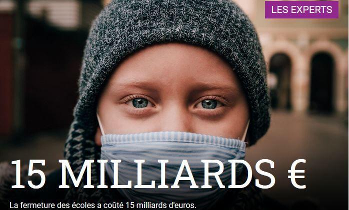 Tests, écoles fermées, masques, vaccins : 100 milliards gaspillés