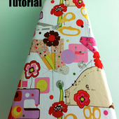 Sew Spoiled: Ironing Board Slipcover Tutorial