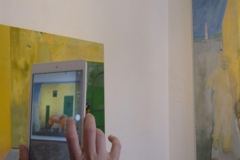 Vues de l'exposition Peter Doig, palazetto Tito, Venise © Le Curieux des arts Antoine Prodhomme, journées presse, mai 2015, Biennale de Venise, 56e exposition Internationale d'Art