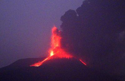 Le point sur les éruptions de l'Etna, de Fagradalsfjall et du Sabancaya.