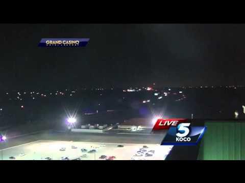 Un OVNI ou un météorite filmé le 12 mars Oklahoma City