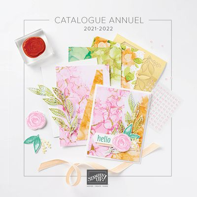 Nouveau catalogue Stampin'Up! 2021/2022