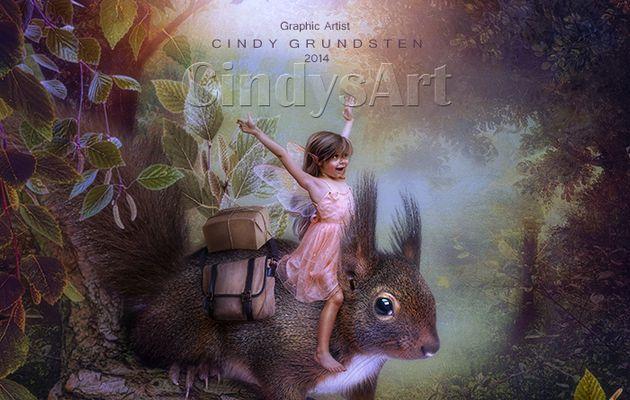 Enfant et écureuil...