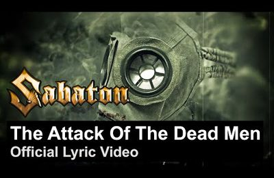 VIDEO - Nouvelle lyrics video de SABATON