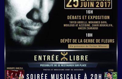 Hommage à Matoub à Pierrefitte sur Seine