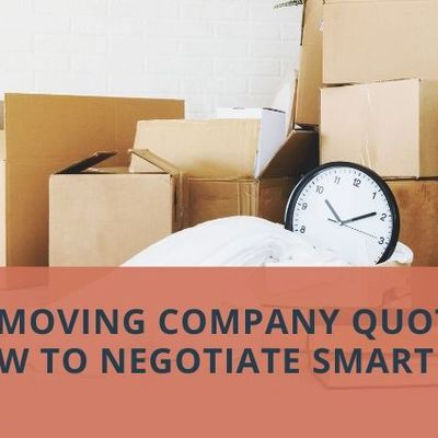 Local Moving Company Quotes: How to Negotiate Smart