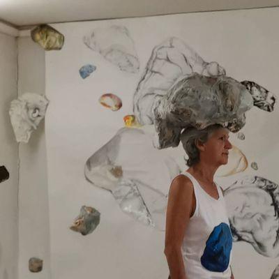 Pierre Blanche, une exposition à l'espace Gachiou, à aubagne