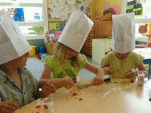 Des vrais chefs cuisiniers !