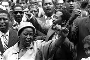 Imágenes celebraciones y conmemorativas del día de la mujer en Sudáfrica.- El Muni.